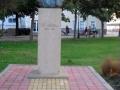 Снимка на паметника на Васил Левски в град Поморие - изпратена ни е от Екатерина Пантева.